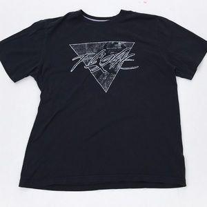 Michael Jordan Flight Black Short Sleeve Tee Shirt